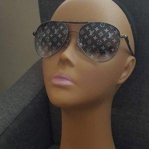 Louis Vuitton Damier Azur Grey Sunglasses